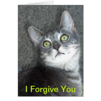 Ich verzeihe Ihnen Karte