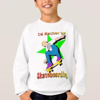 Ich vielmehr Skateboarding Sweatshirt