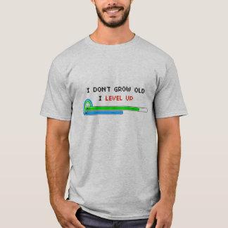 Ich wachse nicht altes i-Niveau auf T-Shirt