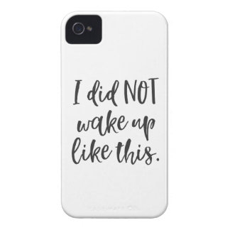 Ich wachte NICHT so auf iPhone 4 Hüllen