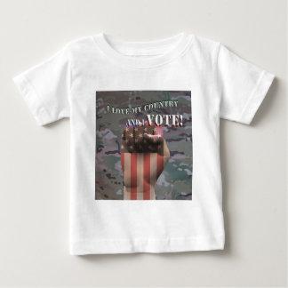 Ich wähle baby t-shirt