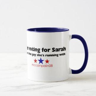 Ich wähle für Sarah Tasse