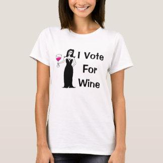 Ich wähle für Wein T-Shirt