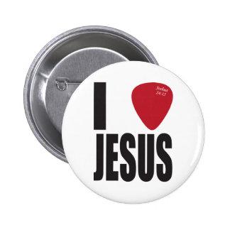 Ich wähle Jesus-Knopf aus Buttons