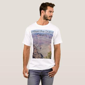 Ich wanderte den Grand Canyon für Männer T-Shirt