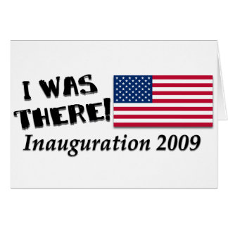 Ich war dort Geschenke des Einweihungs-Tag2009 Grußkarte