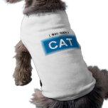 Ich war ein Katzen-Haustier-Shirt geboren Hundeshirts