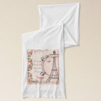 Ich war geboren, in Paris zu wohnen Schal