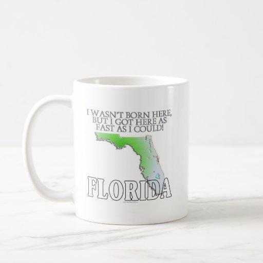 Ich war nicht geborenes hier… Florida Kaffeehaferl