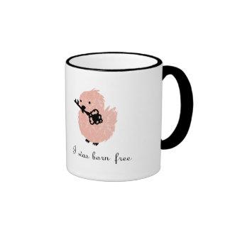 Ich war Schwarzweiss-Version der geborenen freien  Teetassen