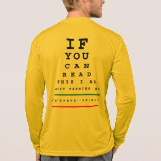Ich wärme Augen-Diagramm - LS Sport-Tek Betrieb T-Shirt