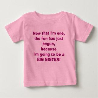 Ich werde ein große Schwester-T - Shirt sein