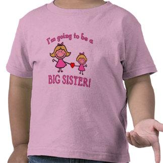 Ich werde ein große Schwester-T-Shirt sein