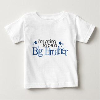 """""""Ich werde ein großer Bruder sein """" Baby T-shirt"""