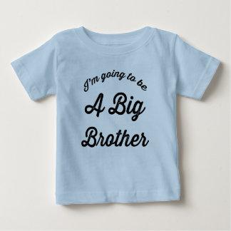 Ich werde ein großer Bruder sein Baby T-shirt