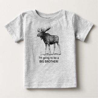 Ich werde ein großer Bruder sein!! (ELCHE) Baby T-shirt