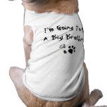 Ich werde ein großer Bruder sein! Haustier Tshirts