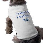 Ich werde ein großer Bruder sein Haustier Tshirts
