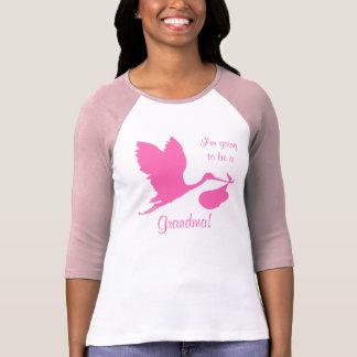 Ich werde ein Großmutter-Pink-Storch sein T-Shirt