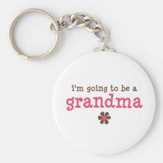 Ich werde ein Großmutter T - Shirt sein Schlüsselanhänger