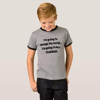 Ich werde ein T-Stück der LEHRER-Kinder sein T-Shirt