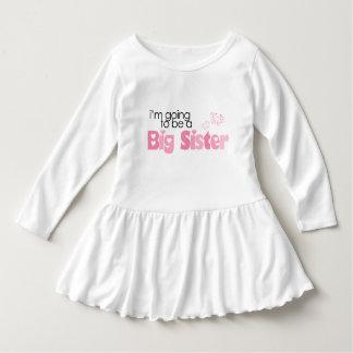 """""""Ich werde eine große Schwester sein """" Kleid"""