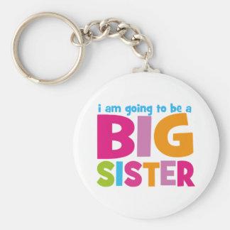 Ich werde eine große Schwester sein Schlüsselanhänger