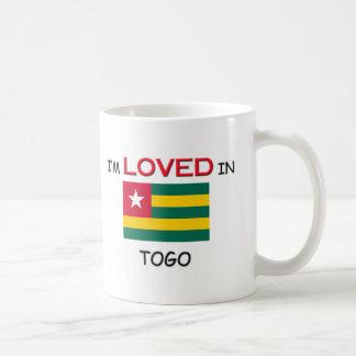 Ich werde in TOGO geliebt Kaffeetasse