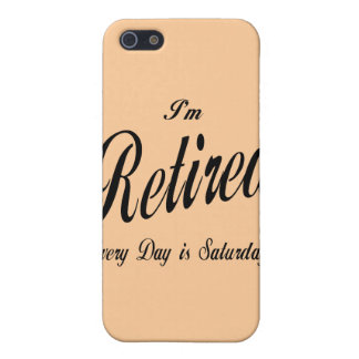 Ich werde jeden Tag bin Samstagschwarzes Etui Fürs iPhone 5