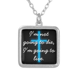 Ich werde nicht sterben, ich werde leben Halskette