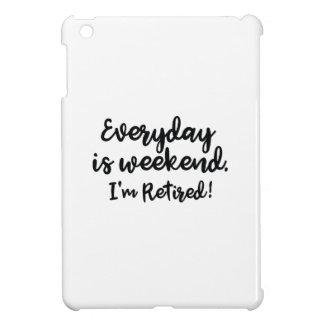 Ich werde zurückgezogen! iPad mini hülle