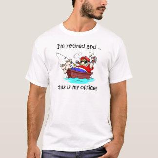 Ich werde zurückgezogen und dieses ist mein Büro! T-Shirt