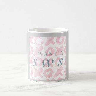 Ich will ein Sws - PastellTasse Kaffeetasse