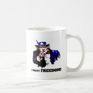 Ich will Freiheit! Kaffeetasse
