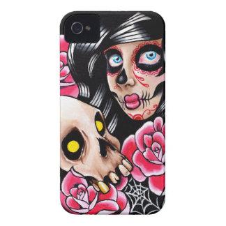 Ich will Ihren Schädel-Tätowierungs-Blitz Case-Mate iPhone 4 Hülle