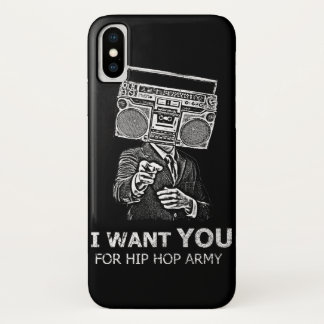 Ich will Sie für Angesagthopfenarmee iPhone X Hülle