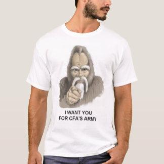 ICH WILL SIE FÜR ARMEE CFAS T-Shirt