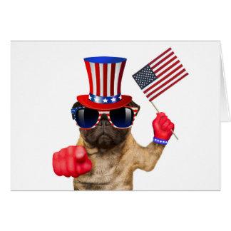 Ich will Sie, Mops, Uncle Sam Hund, Karte