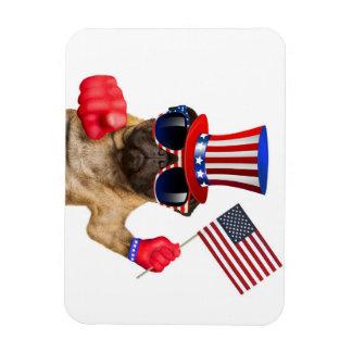Ich will Sie, Mops, Uncle Sam Hund, Magnet
