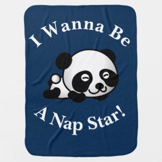 Ich will, um ein Nickerchen-Stern Sleepytime Puckdecke