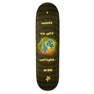 Ich will, um leicht zu erhalten 18,1 cm old school skateboard deck