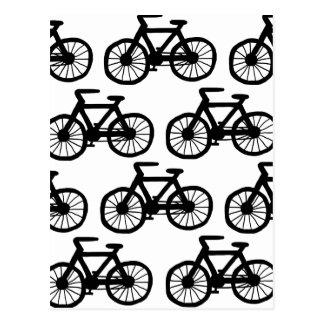 Ich will, um mein Fahrrad zu fahren Postkarte