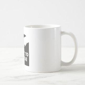 Ich will, um zu glauben kaffeetasse