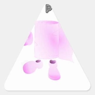 ich wische deinen Vater Ab Dreiecks-Aufkleber