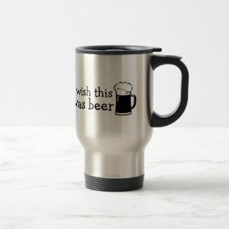 Ich wünsche, dass dieses Bier-Reise-Tasse war Reisebecher