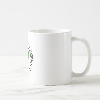 Ich wünsche, dass ich irisch war kaffeetasse