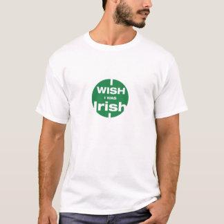 Ich wünsche, dass ich irisches T-Shirt war