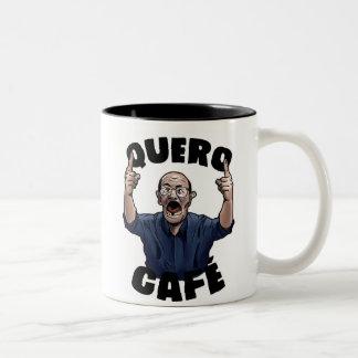 Ich wünsche Kaffee Zweifarbige Tasse