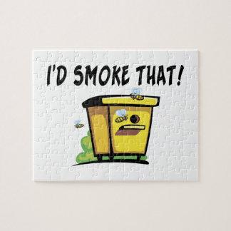 Ich würde diesen Bienenstock rauchen Puzzle