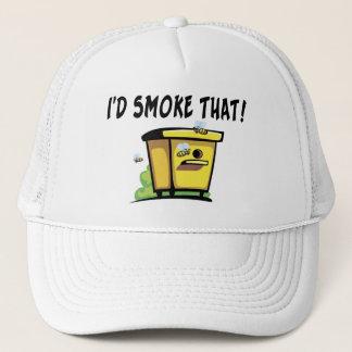 Ich würde diesen Bienenstock rauchen Truckerkappe